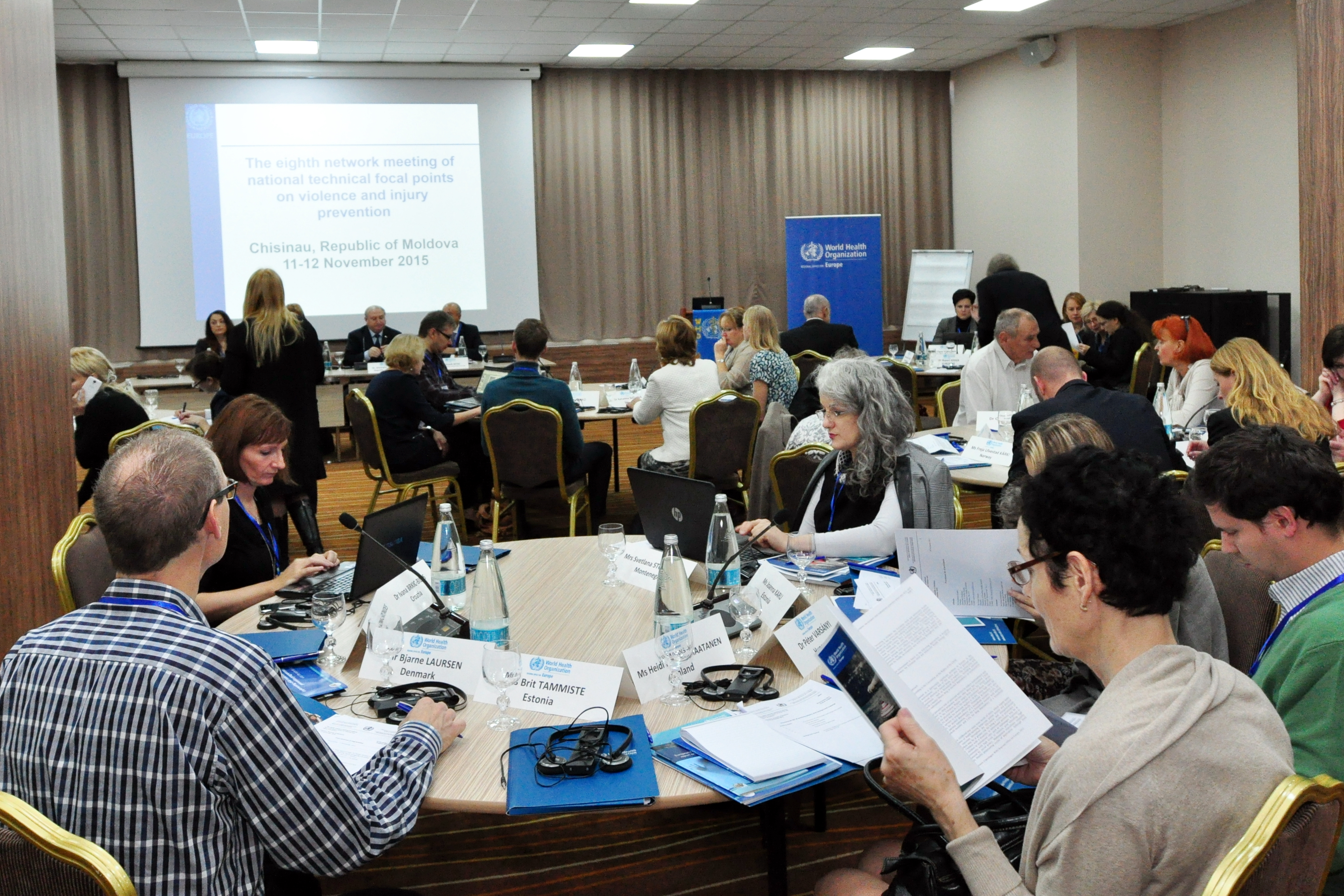 WHO Violence meeting & Injury regional workshop.JPG